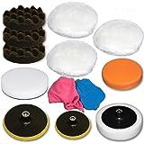 schleifteller klettteller polierteller m14 125 mm f r flex. Black Bedroom Furniture Sets. Home Design Ideas