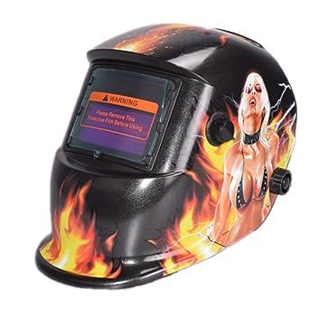 Cascos de soldador automático profesional modelo # 73 casco máscara de soldadura Solar Arc Tig Mig