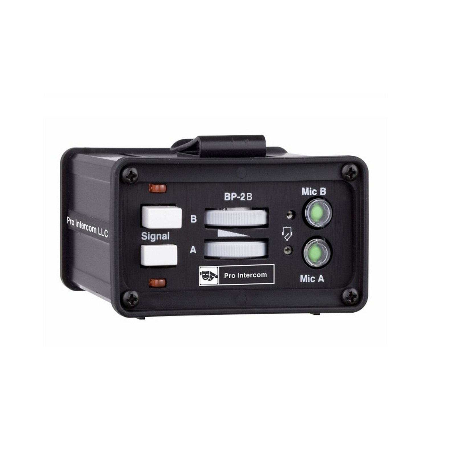 Pro Intercom BP2B   Two Circuit Binaural Portable Headset Station Beltpack by Pro Intercom