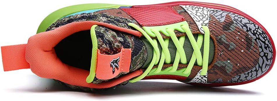 FJJLOVE Zapatos de Baloncesto en el Exterior Antideslizante ...