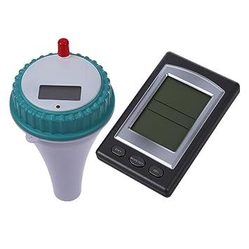 Sonline Thermometre Mesure Testeur Temperature Sans Fil Pour Piscine