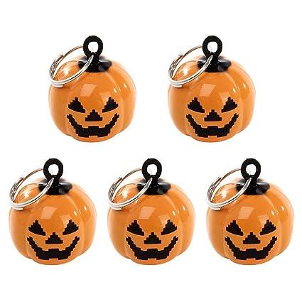 Halloween Pumpkin Accessories.Ultnice 5pcs Pumpkin Shape Jingle Bells Cartoon Pendant Pet Accessories Halloween Decor Amazon In Musical Instruments