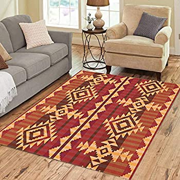 Amazon Com Semtomn Area Rug 3 X 5 Pattern Navajo Indian