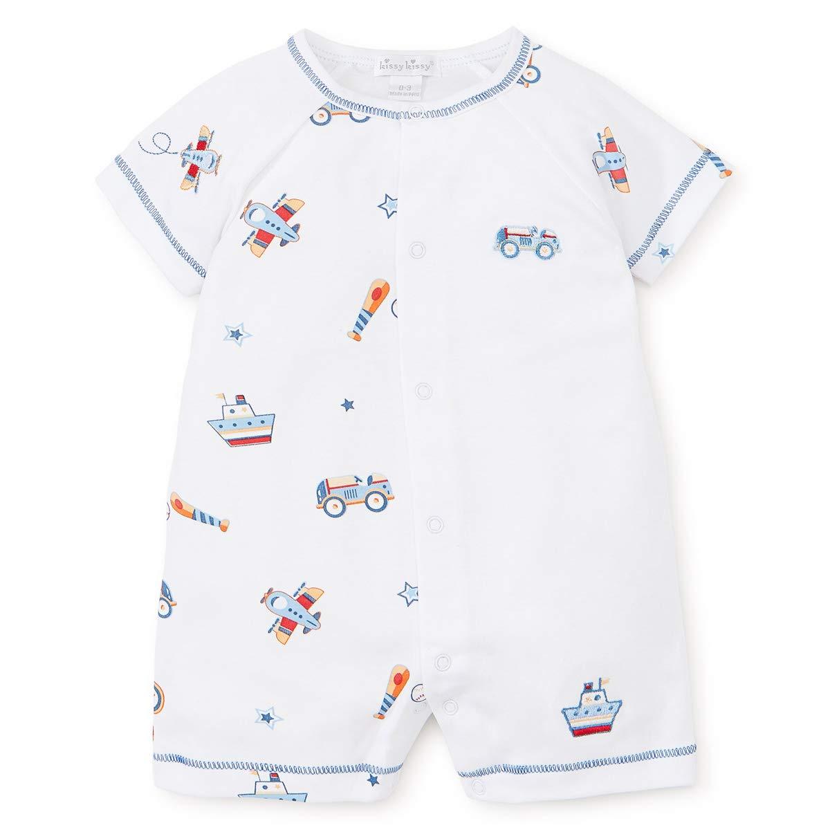 Kissy Kissy Baby-Boys Infant Its A Boy Print Short Playsuit KBR01906I