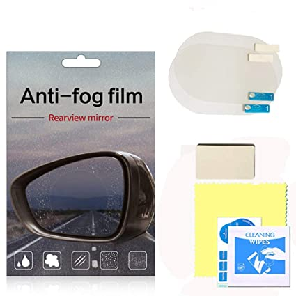 Amazon Com Anti Fog Film Rearview Mirror 2pcs Universal Anti