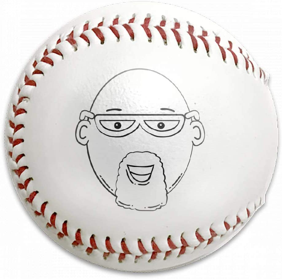 FFMMdog Custom Gerald G Man Face 3 World Label Baseball 61CELN4f9GL