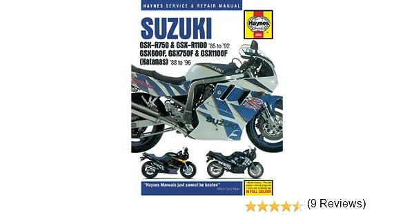 Suzuki gsxr katana 8896 haynes repair manuals haynes suzuki gsxr katana 8896 haynes repair manuals haynes 0038345020551 amazon books fandeluxe Gallery