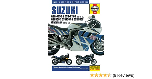 Suzuki gsxr katana 8896 haynes repair manuals haynes suzuki gsxr katana 8896 haynes repair manuals haynes 0038345020551 amazon books fandeluxe Gallery