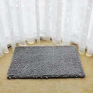"Microfiber Area Rugs for Living Room Non Slip Bath Rug Pad (20""32"")"