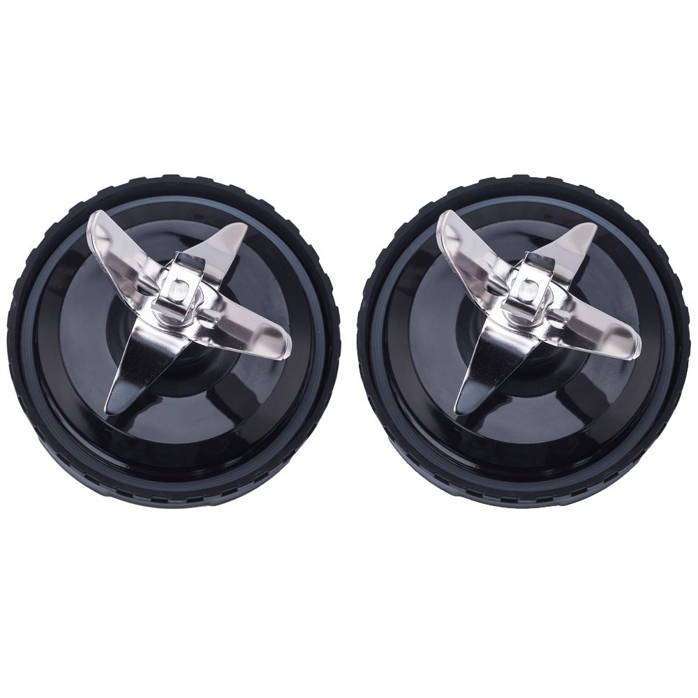 aokur Stainless Steel 6 Fins Blade Bottom Assembly Replacement Part for Ninja Blender 1500W BL770 BL771 BL773CO