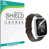 Asus Zenwatch 2 (1.63 inch) Screen Protector [6-PACK] Full Coverage [Military-Grade] RinoGear Premium HD Invisible Clear Shield w/ Lifetime Replacements