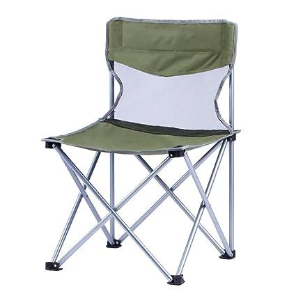 Silla de camping, Silla Plegable para Actividades al Aire ...