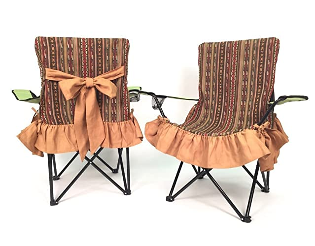 Southwest Glamping Chair Covers Girly Chair Cover, Glam Camping, RV  Camping, Sports,