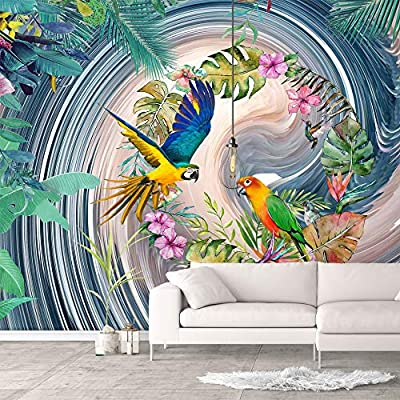 Wall Murals for Bedroom Green Plants Animals Removable Wallpaper Peel and Stick Wall Stickers, With Expert Quality, Gorgeous Style
