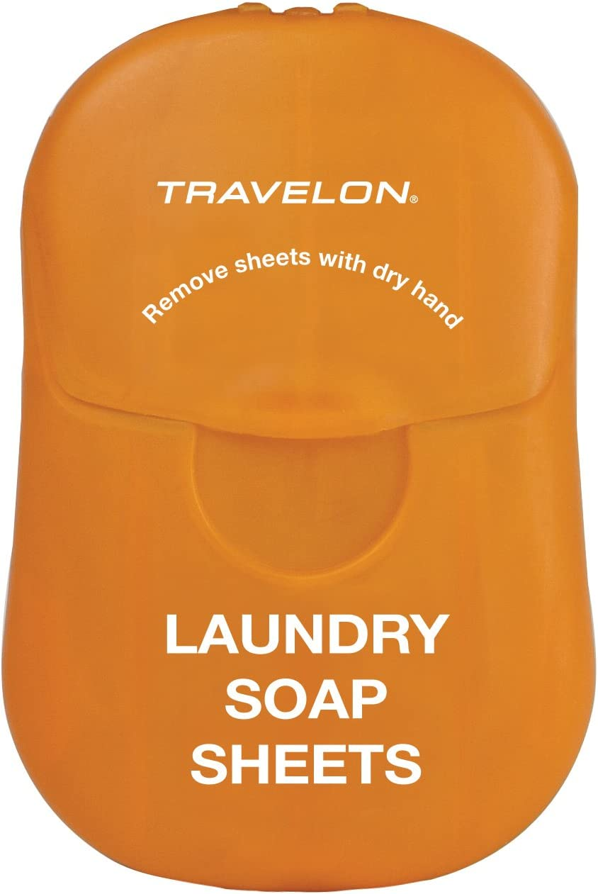Travelon Laundry Soap Sheets, 50-Count