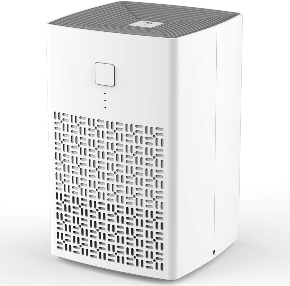 THE THREE MUSKETEERS III M HEPA Air Purifier for Home, Office, Bedrooms, Mini Air Purifier with 30DB Filtration System and 100% Ozone Free, Mini Air Cleaner Remove 99.95% Smoke, Dust,etc. …