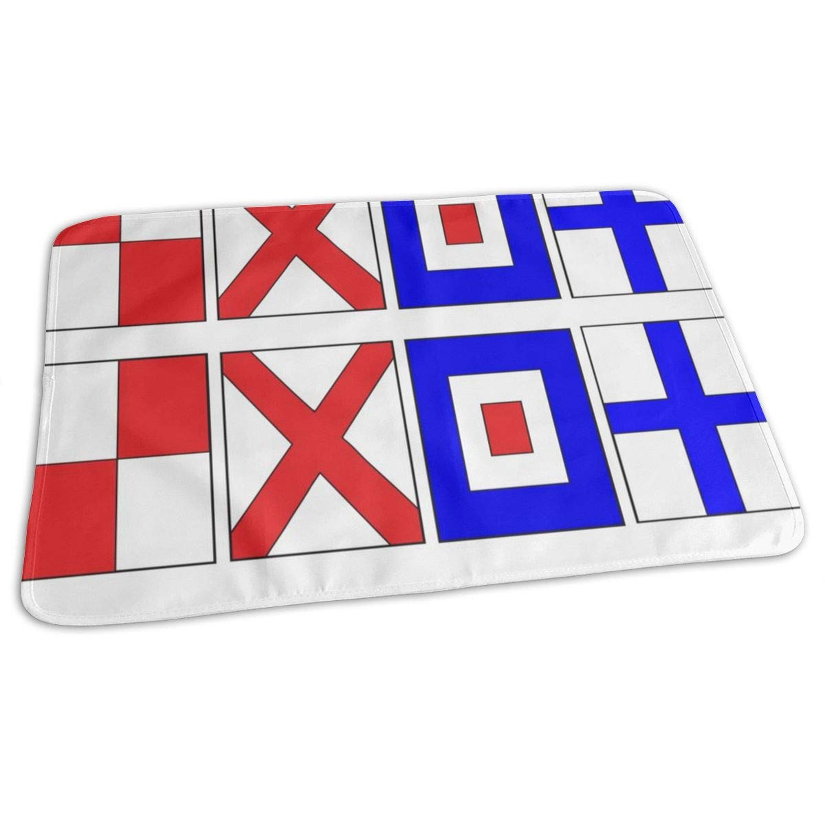 Letter U V W X (67) Baby Portable Reusable Changing Pad Mat 19.7x27.5 inch