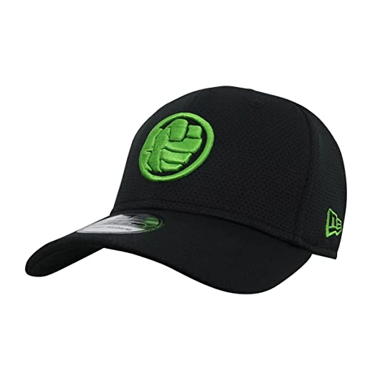 413103e93bf New Era Hulk Fist Symbol 39Thirty Fitted Hat- Small Medium at Amazon ...