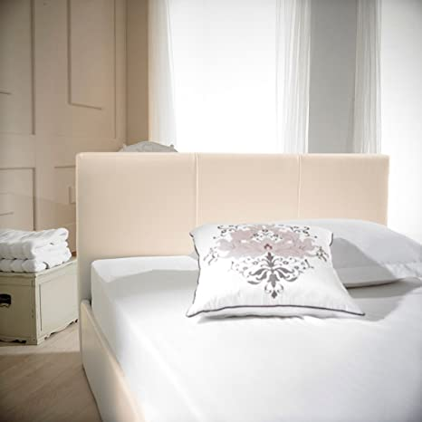 Prime Barcelona Faux Leather Ottoman Storage Bed 5 King Cream Ivory Pdpeps Interior Chair Design Pdpepsorg