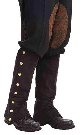 Forum Novelties 199.222 Steampunk Hombre Botines Negro adultos: Amazon.es: Ropa y accesorios