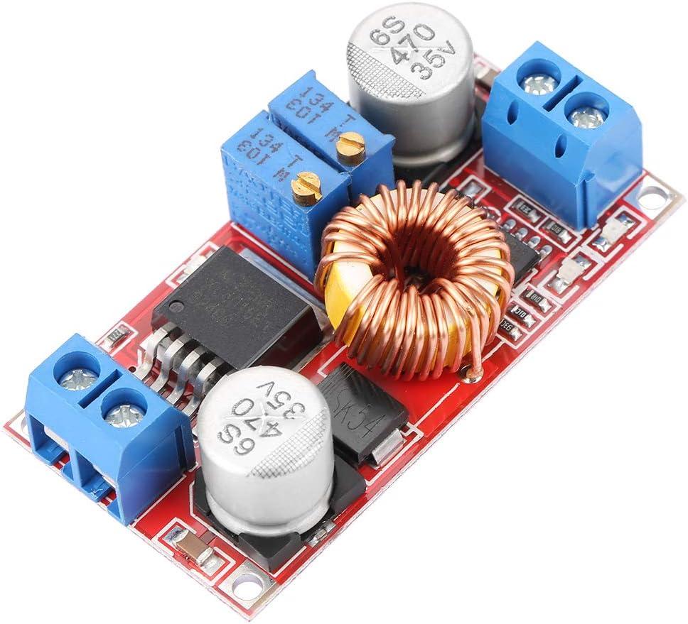 5A 75WM/ódulo de poder,Convertidor Buck Regulador M/ódulo LED Carga de bater/ía de iones de litio Placa de alimentaci/ón