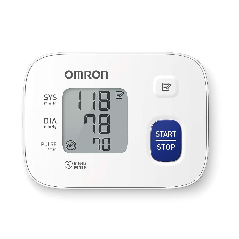 Omron RS1 - Tensiómetro de muñeca, color blanco: Amazon.es: Salud y cuidado personal