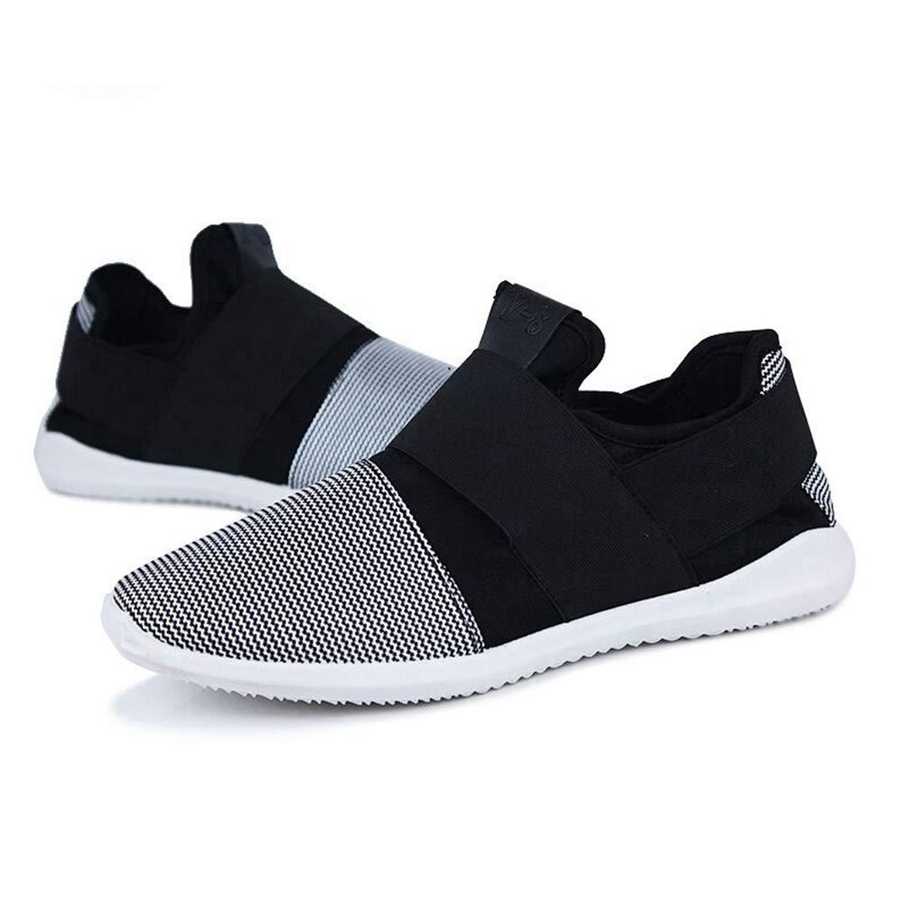 Männer Sneakers Fashion Slip-auf Schuhen Atmungsaktive Maschen lässige Schuhe
