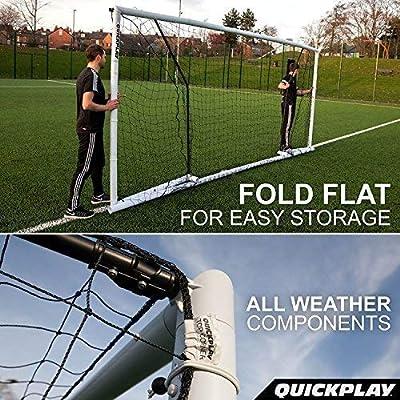 QuickPlay But de Foot Pliable Match Fold 1,8m x 1,2m: Amazon.es ...