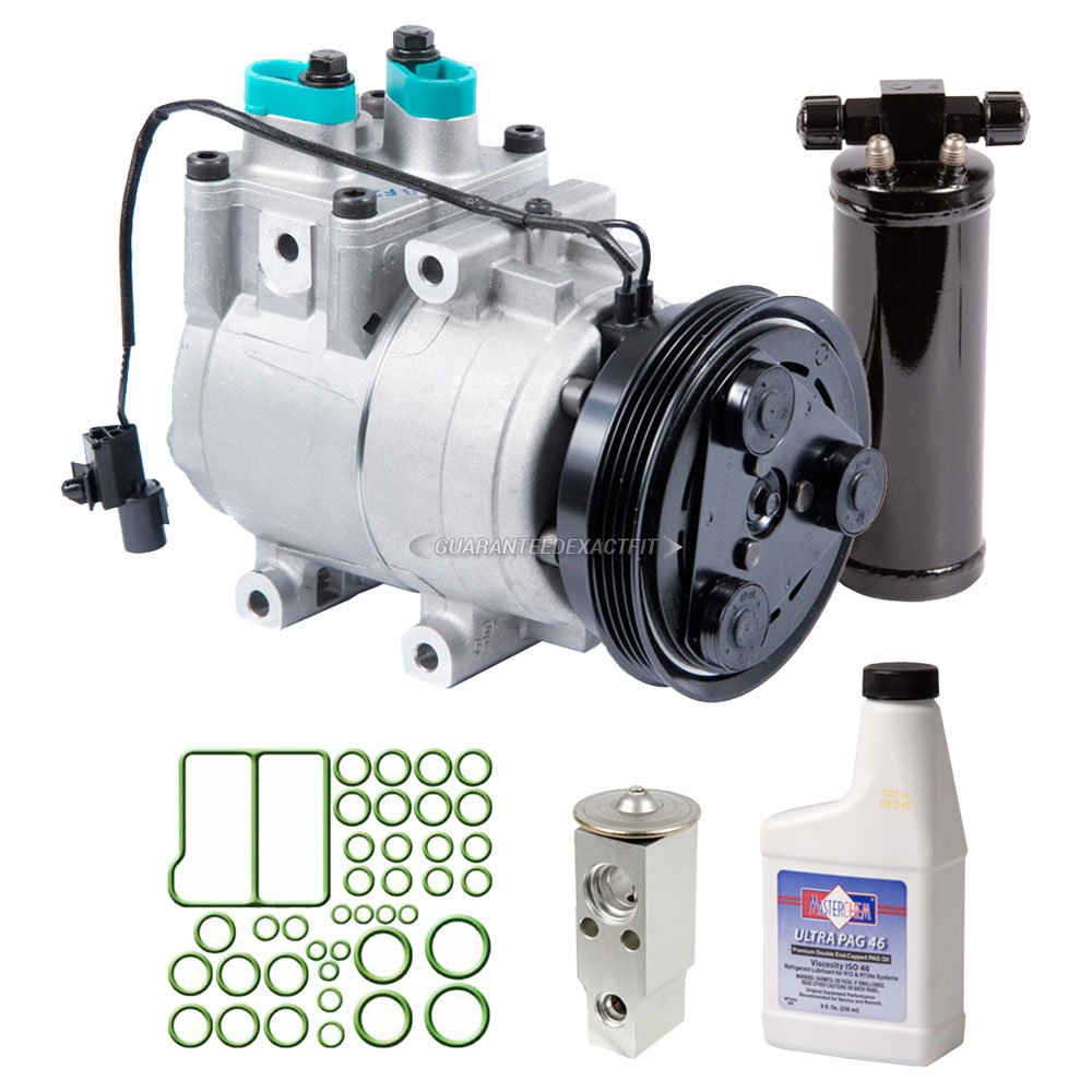 Amazon.com: OEM AC Compressor w/A/C Repair Kit For Kia Rio 2001 - BuyAutoParts 60-83730RN NEW: Automotive