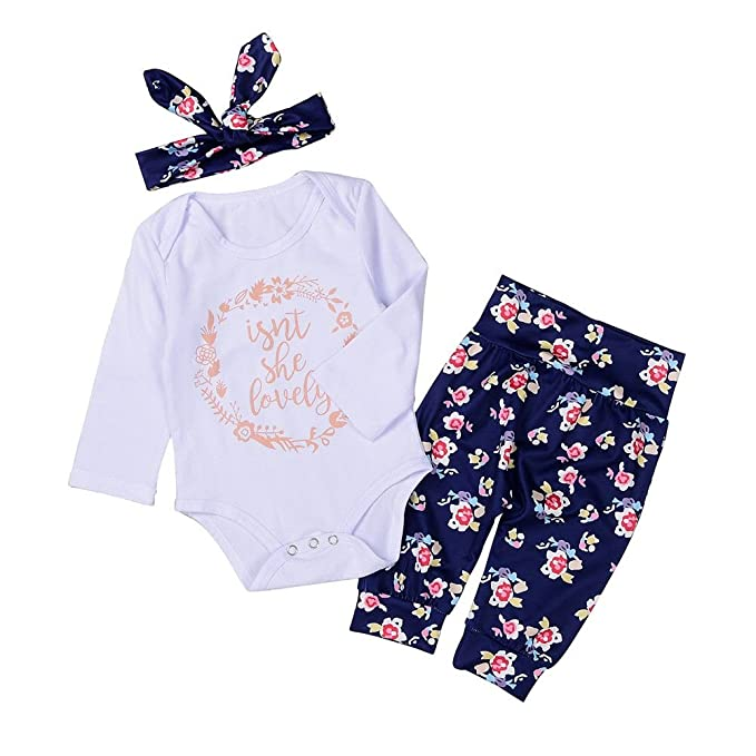 0363932f304b Image Unavailable. Image not available for. Colour  Baywell Baby Girl  Clothes Set Infant Kids Newborn Toddlers