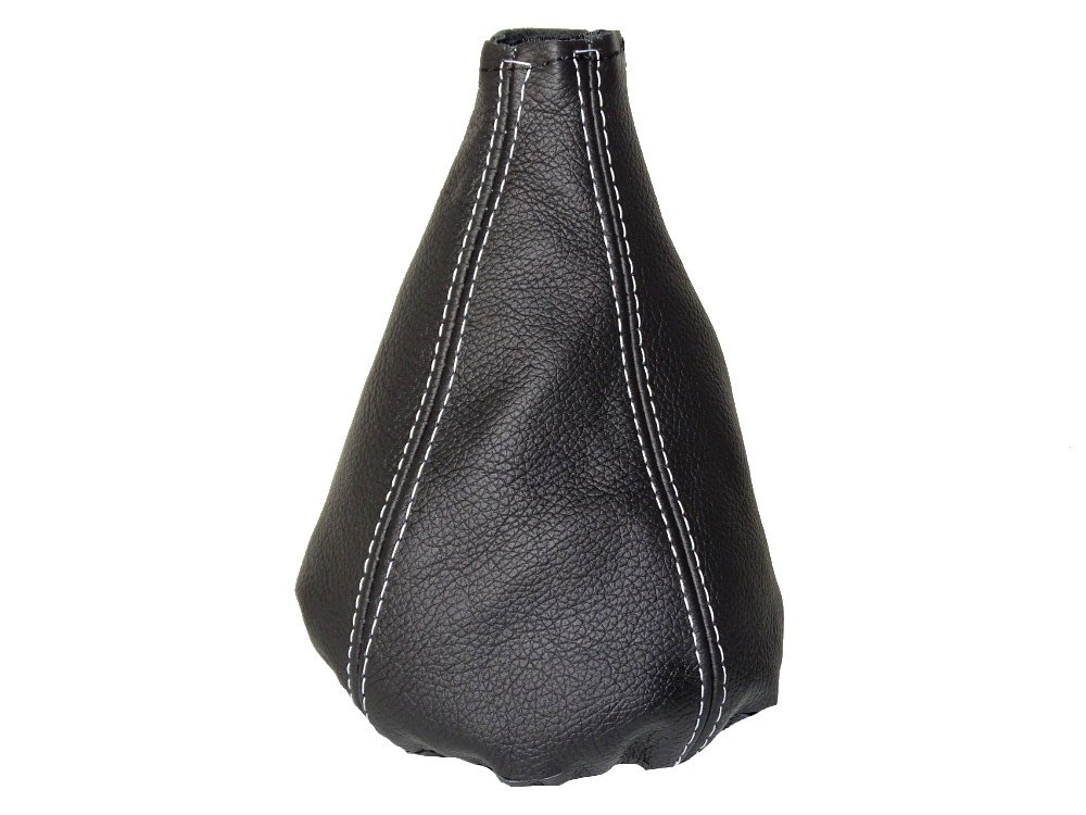 The Tuning-Shop Ltd Gear Stick Gaiter Black Genuine Leather