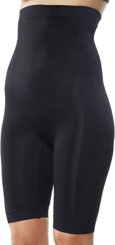 hohe Taille Mid-Thigh Body Shaper Panty KHAYA Damen Shapewear Oberschenkel Slimmers Bauchkontrolle Butt Lifter Shapewear Knie-Shorts