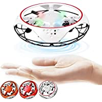 JUMOWA UFO Hand-Controlled Drones Toys, Tech Gadgets Frisbee