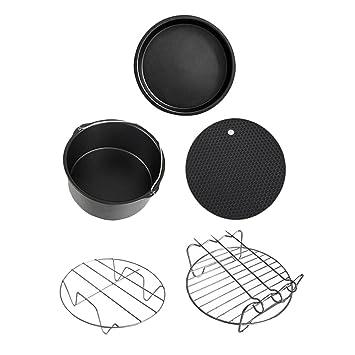 Sharplace Freidoras Complimentos Accesorios Freidora de 5 Piezas Electrodomésticos Cocina: Amazon.es: Hogar
