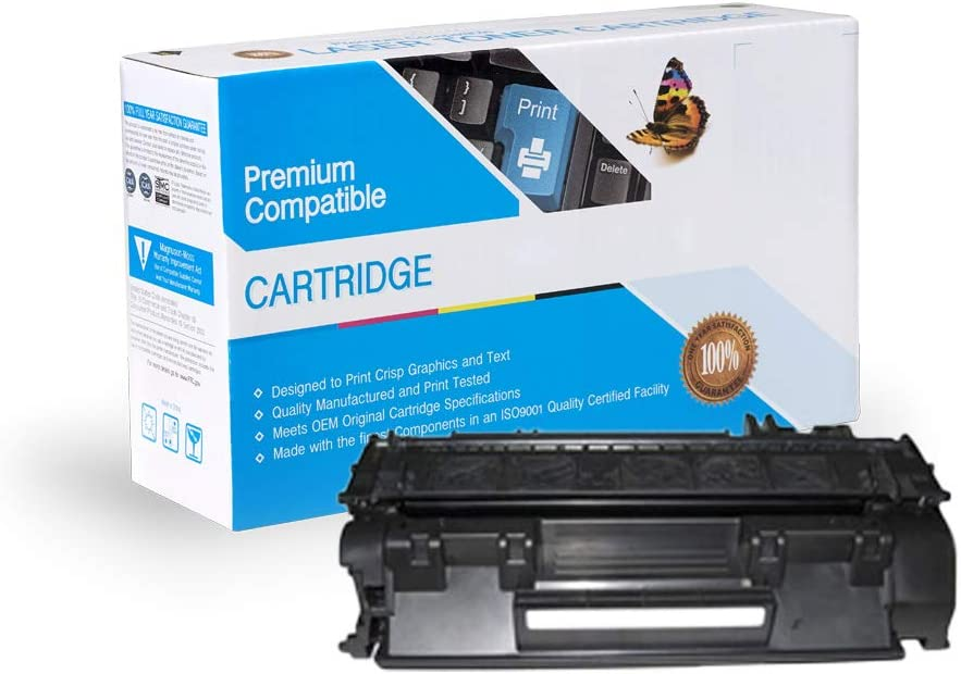 P2055D P2055DN CNY Toner 3 Packs Compatible MICR Replacement for HP CE505A Black P2035DN P2055X Works with: Laserjet P2035 P2055