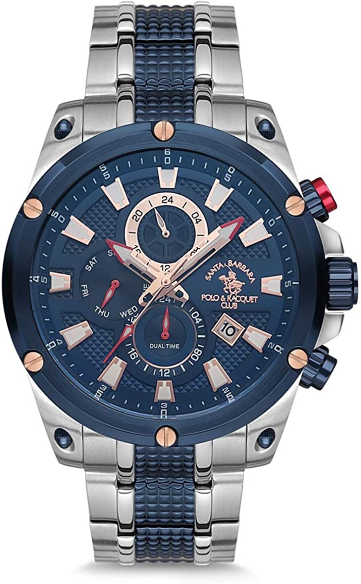 Santa Barbara Polo & Racquet Club SB.13.1007.5 - Reloj de pulsera ...