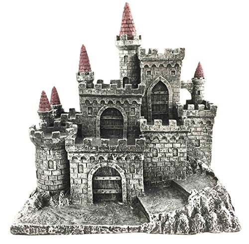 - Medieval Middle Ages Castle Fortress For Miniature Display Stand Figurine Statue
