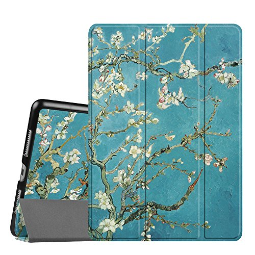 Fintie iPad Pro 9.7 Case - Lightweight Slim Shell Standing Cover with Auto Wake / Sleep Feature for Apple iPad Pro 9.7 inch (2016 Version), Blossom