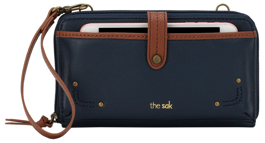 The Sak Iris Large Smartphone Crossbody (Indigo)