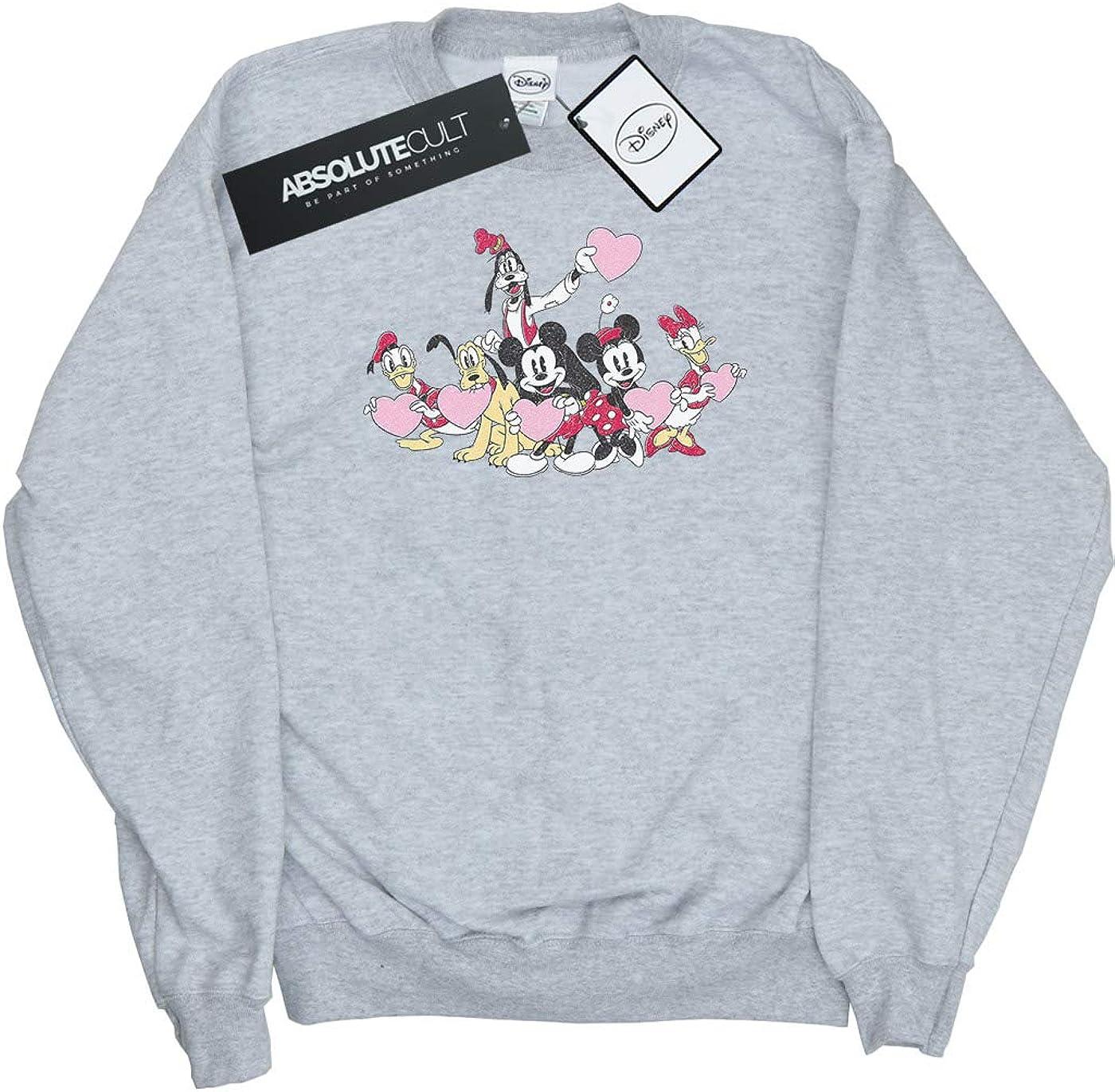 Disney Boys Mickey Mouse Love Friends Sweatshirt