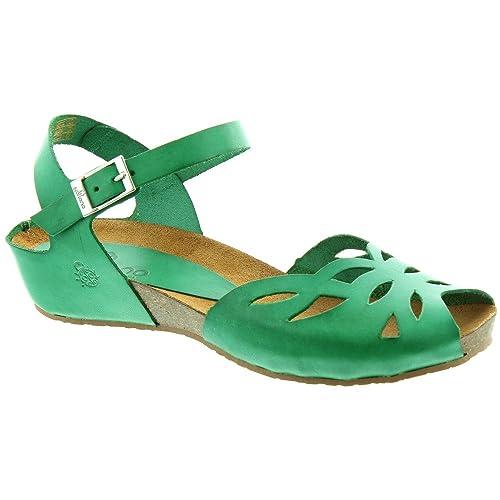 074b6be30 Yokono - Ladies Capri 023 Flat Sandals in Green  Amazon.co.uk  Shoes ...