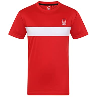 82cb24bb69d Amazon.com  Nottingham Forest Football Club Official Gift Mens Poly  Training Kit T-Shirt  Clothing