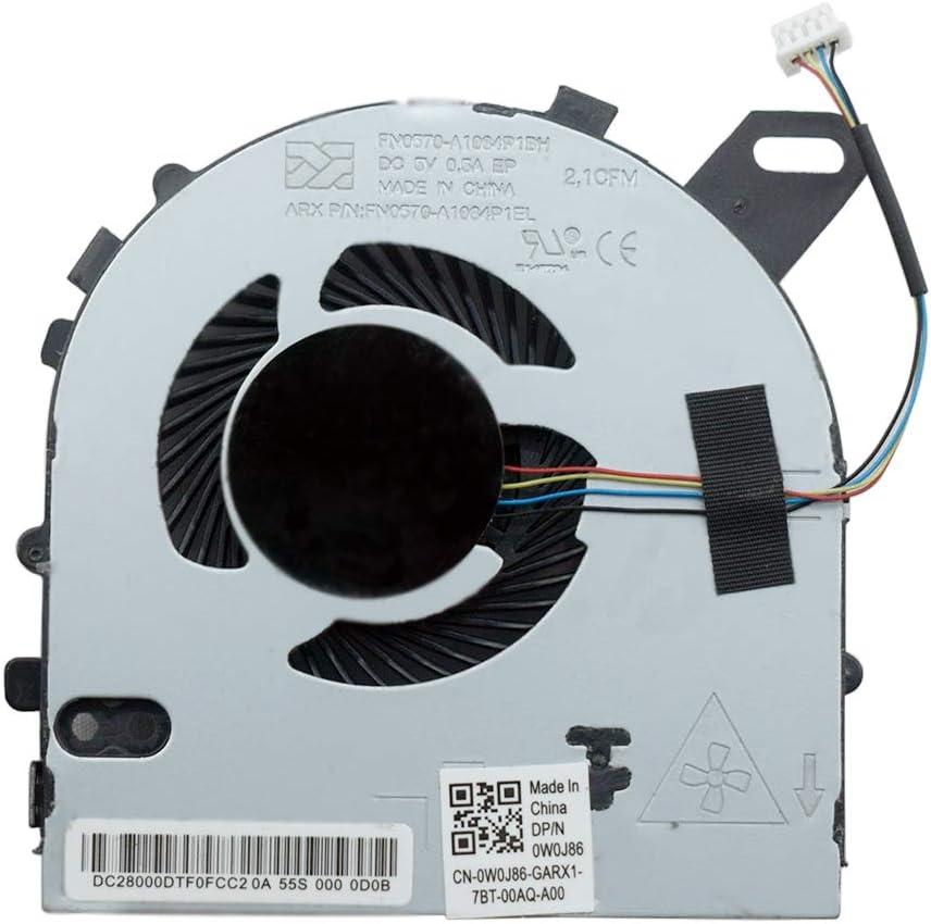 Original NEW for DELL inspiron 15 7560 15-7560 CPU FAN W0J85 0W0J85 DC028000ICR0