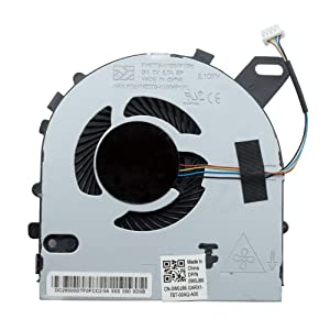 New CPU Cooling Fan Compatible for Dell Inspiron 15 7560 15-7560 Vostro 5468 5568 Series Laptop Cooler DC28000ICR0 0W0J85 W0J85 by YDLan