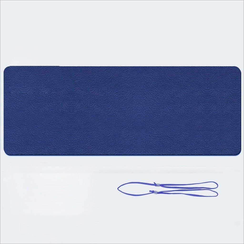 MEIDI Home Geruchloses Material Yogamatte für Anfänger 184 × 61 × 0,6 cm