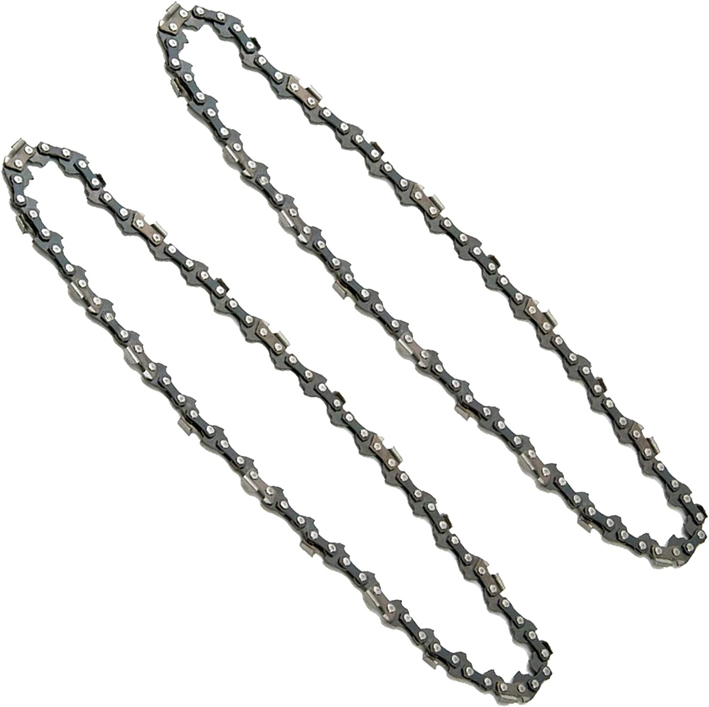 Spares2go - Cadena de barra para motosierra Oleo-Mac OM 17E OM 19E (14 pulgadas, 50 unidades)