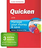 Quicken Deluxe 2018 Release - [Amazon Exclusive] 27-Month Personal Finance & Budgeting Membership