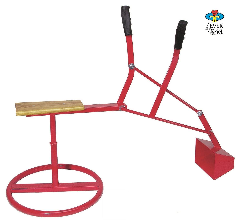 Kinderbagger - Sandkasten Bagger - Sandbagger - Sitzbagger Metall