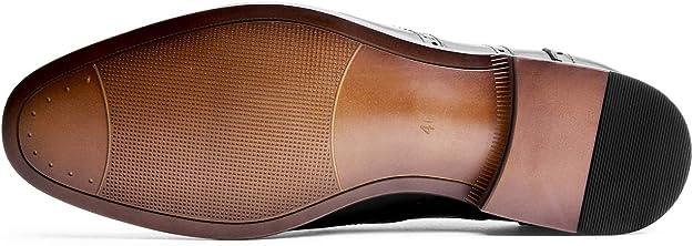 Color : Brown, Size : 10 MUS L.Z.H Classic Mens Shoes Formal PU Leather Lace Up Soft Sole Flats Winter Dress Shoes for Gentlemen Driving Shoes