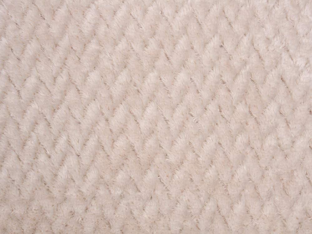 Manta para el sof/á Tacto Coral y Extra Suave 130x170 cm REVITEX Manta Sedalina Turqu/ía Beige